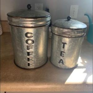 Farmhouse inspired canister set
